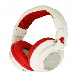 Fischer Audio FA-005 DJ White Red
