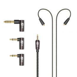Universal MMCX Balanced Audio Cable with adapter set