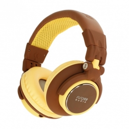 Fischer Audio FA-005 DJ Brown Yellow